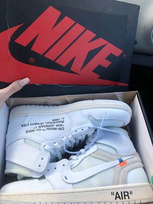 Off white jordan 1 size 9.5 for Sale in San Diego, CA
