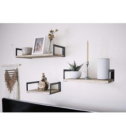 3 tier Floating wall shelves for Sale in Waltham,  MA