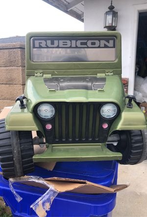 6v Jeep rubicon powerwheels for Sale in Claremont, CA