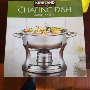 Chafing Dish Stainless Steel for Sale in Centereach, NY