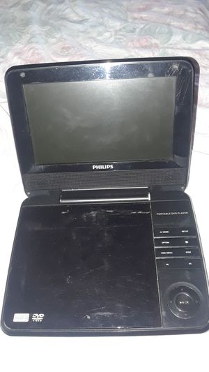 Philips Portable DVD Player - Includes Charger for Sale in Vallejo, CA