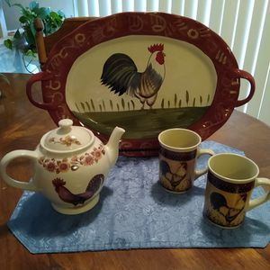 Rooster Ware for Sale in Duncanville, TX