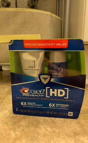 Crest Whitening Pro Health 2 Step for Sale in Tampa, FL