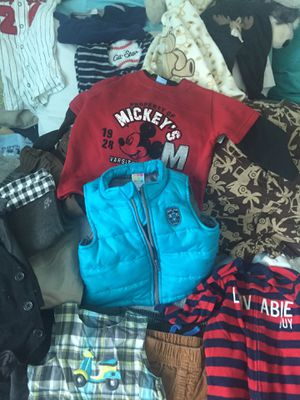 Huge box of size 6-9 month baby boy clothing for Sale in San Diego, CA