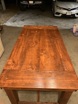 Custom styled dining room table for Sale in Queen Creek, AZ