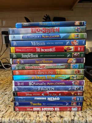 16-Movie Disney DVD Collection - NOT SPLITTING UP for Sale in Silver Spring, MD