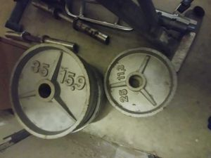 Olympic weights for Sale in Fontana, CA