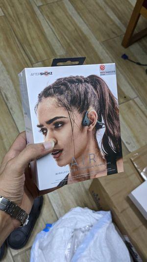 AfterShokz - Air Wireless Bone Conduction Open-Ear Headphones - Brand New in Box - One Year Warranty! for Sale in Arlington, TX