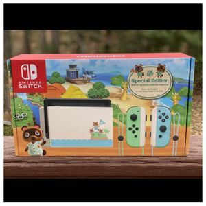 Nintendo switch (Animal crossing edition) and brand new carrying case for Sale in Fort Washington, MD