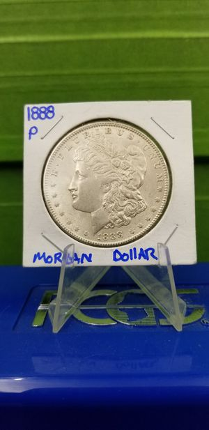 "AUTHENTIC 1888-P MORGAN DOLLAR ""UNC"" for Sale in Bakersfield, CA"