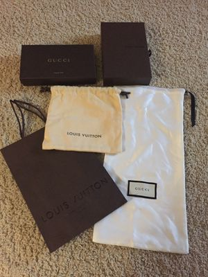 Gucci and LV Boxed/Bags for Sale in Chesterfield, VA