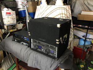 Pyle / Gemini DJ Equipment for Sale in Charleroi, PA