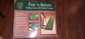 Club Champ Putt 'n Return Golf Putting Green With Realistic Hazards 8 Feet Long for Sale in Cleveland, OH