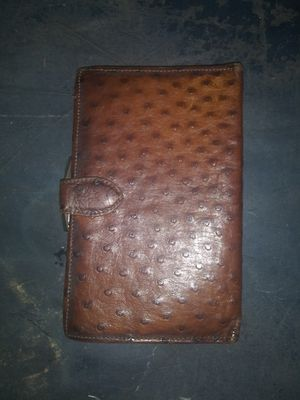 Basco ostrich wallet for Sale in Salinas, CA