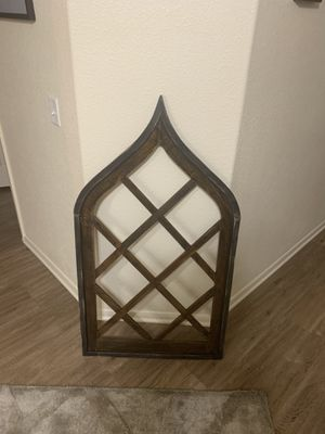 New pier 1 imports wood wall home decor for Sale in Gilbert, AZ