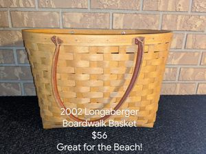 2002 Longaberger Boardwalk Basket for Sale in Orange City, FL