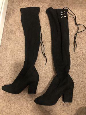 Thigh-high heels - Size 7 for Sale in Herriman, UT