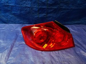 2007 - 2015 INFINITI G37 G35 G25 Q40 SEDAN LEFT SIDE TAIL LIGHT LAMP QUARTER PANEL for Sale in Fort Lauderdale, FL