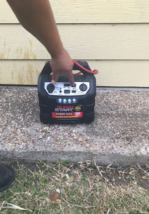 Portable jump starter with air compressor for Sale in Arlington, TX
