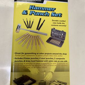 HAMMER & PUNCH SET - WHEELER ENGINEERING for Sale in Chula Vista, CA