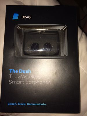 Bragi the dash wireless ear phones for Sale in Sanger, CA