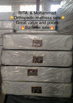 orthipedic mattress for Sale in Oak Forest,  IL