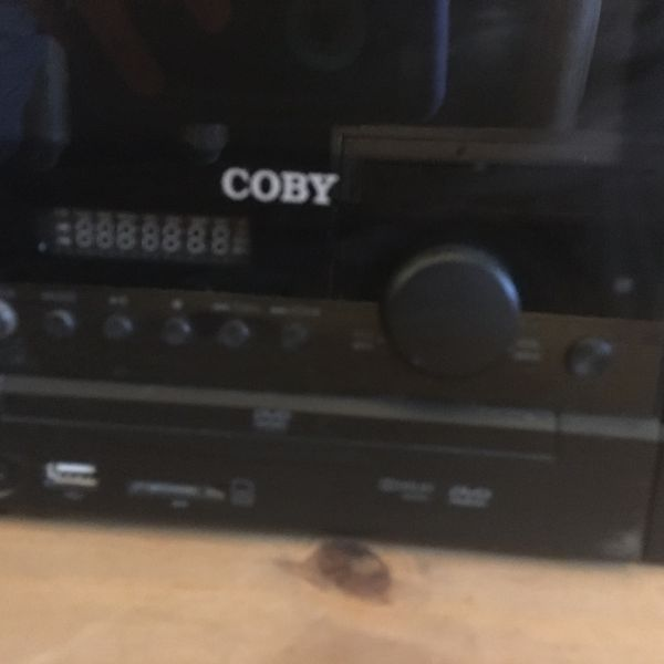 Coby all in one DVD/TV/CD/Radio set