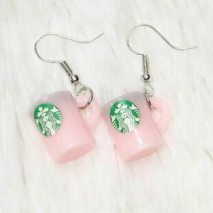 Starbucks Coffee Mug Dangle Earrings for Sale in Bellflower, CA