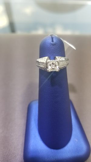 Platinum Diamond Ring. Size 4.5 (C-2) ASK FOR RYAN for Sale in Winston-Salem, NC
