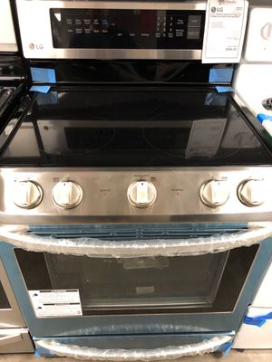 New Discounted LG Electric Range 1yr Manufacturers Warranty for Sale in Gilbert, AZ