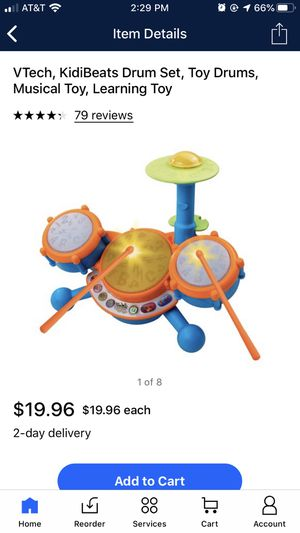 Vetch drum set for Sale in South Lyon, MI