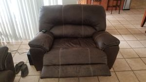 Reclining Overstuffed Chair and Sofa. for Sale in Miami, FL