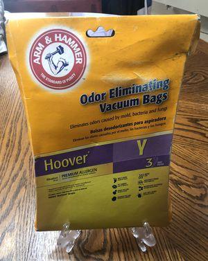 """Arm & Hammer Brand Odor Eliminating """"Y"""" Vacuum Cleaner Bags for Sale in Jasper, TX"""