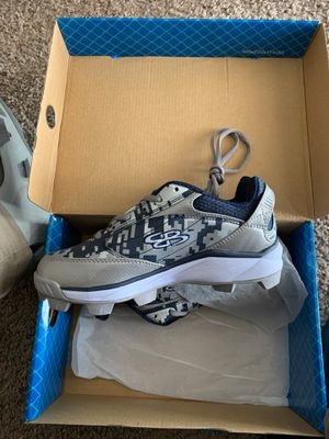 Boombah youth baseball cleats for Sale in El Mirage, AZ