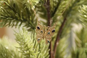 14k gold butterfly for Sale in Great Falls, MT