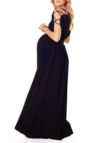 Ingrid & Isabel NEW Smocked Empire Waist Maternity Maxi Dress for Sale in Silver Spring, MD