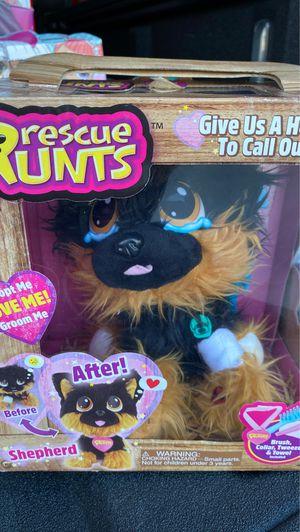 New Rescue runts shepherd rescue dog plush by kd kids for Sale in Houston, TX