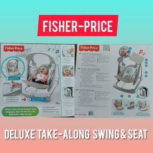 Fisher price Delux Take-along swing & seat for Sale in Kissimmee, FL