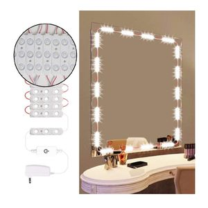 Dimmable Vanity Mirror Lights Dmeixs Led Vanity Lights Hollywood Style Makeup Lights Stick on with Touch Dimmer Waterproof Mirror Lights Vanity for Sale in Santa Ana, CA