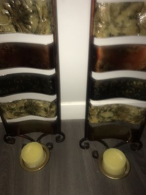 Wall candle holders ! Brand new unused for Sale in Chicago, IL