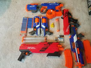 Whole entire collection of Nerf guns for Sale in Middletown, NJ