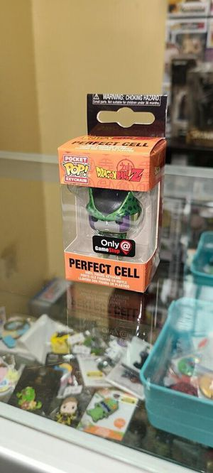 Perfect Cell- Funko Pocket POP Keychain- GameStop Exclusive- DragonBall Z for Sale in Cypress, CA