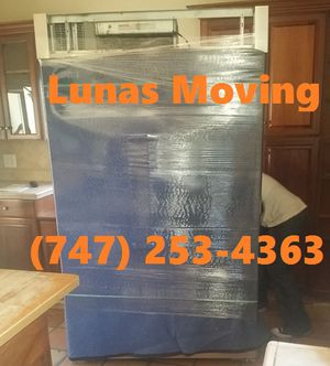 Appliance moving. Small and large no problem! for Sale in Santa Monica, CA