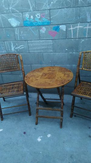 Bamboo patio set for Sale in Los Angeles, CA