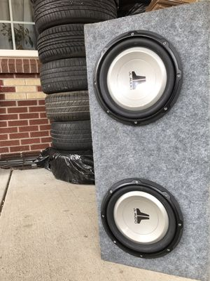 JL Audio Subwoofers Alpine Amp for Sale in Denver, CO