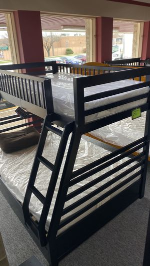 Bunkbed Bunk Bed Twin over Full FINANCE TODAY NO DOWN QDQ7 for Sale in Euless, TX