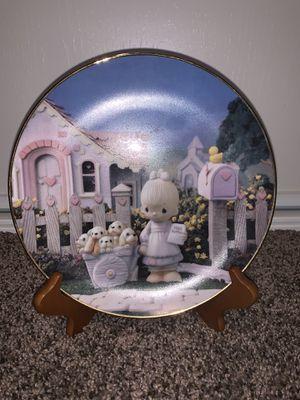 Precious Moments Hamilton Collection Plate for Sale in Anaheim, CA