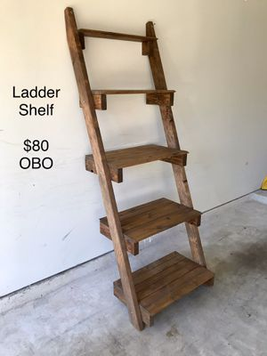 Rustic Ladder Shelf for Sale in Montgomery, TX