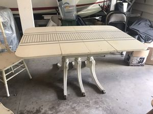 Antique Drop Leaf Table and Chairs for Sale in West Linn, OR