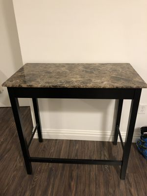 Faux Marble High table for Sale in Brooklyn, NY